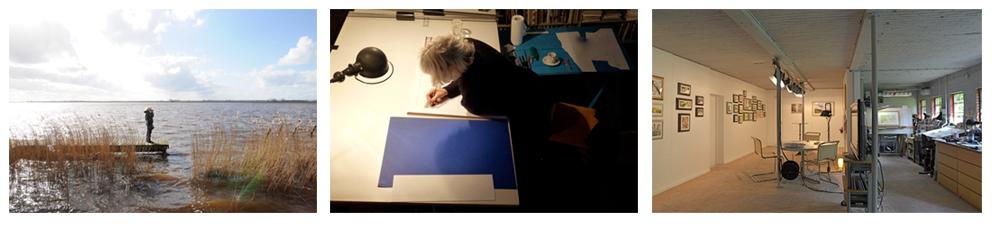 Wanda Werner aan het werk